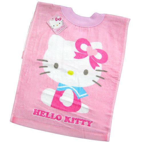 【奇買親子購物網】凱蒂貓毛巾圍兜