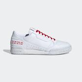 Adidas Continental 80 [FU9787] 男鞋 運動 休閒 慢跑 復古 經典 穿搭 愛迪達 白 紅