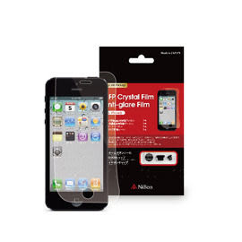 【A Shop】 NiBon 日本製頂級螢幕保護貼-抗眩霧面/光澤鏡面 二張(LIP5-01AB) For iPhone SE 5S 5C