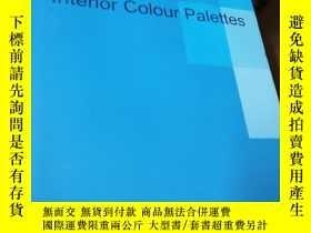 二手書博民逛書店new罕見interior colour palettesY23
