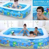 嬰兒童充氣游泳池家庭超大型海洋球池加厚家用大號成人戲水池 QQ28474『bad boy』