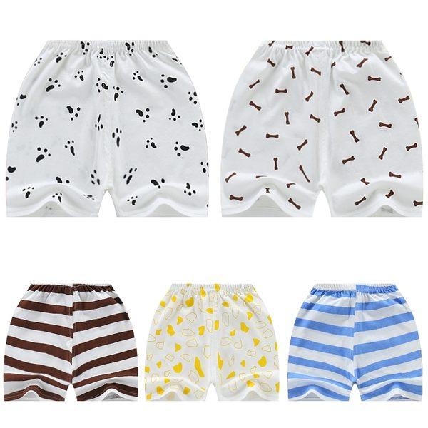 嬰兒短褲 寶寶短褲 條紋小狗 兒童棉褲 棉質小童褲 HY40603 好娃娃