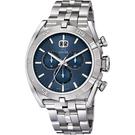 JAGUAR EXECUTIVE 運動計時手錶-藍x銀/46mm J654/5