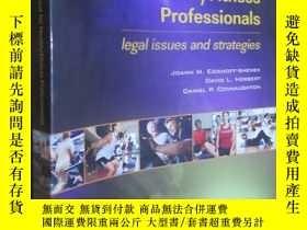 二手書博民逛書店Risk罕見Management for Health Fitness Professionals: Legal