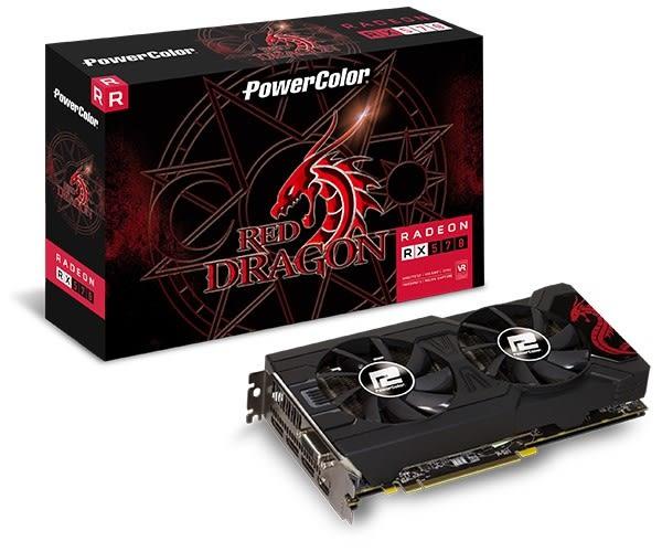 撼訊AXRX570 4GBD5-3DHDV2/OC 4G GDDR5 256bit AMD顯示卡