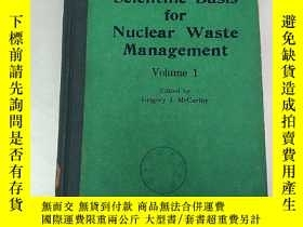 二手書博民逛書店scientific罕見basis for nuclear wa