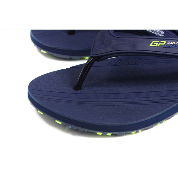 G.P (GOLD PIGEON) 阿亮代言 夾腳拖鞋 人字拖 深藍色 男鞋 G0567M-20 no443