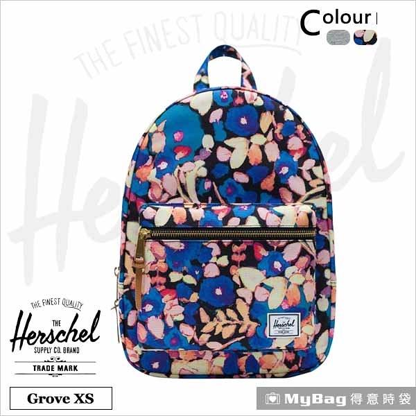 Herschel 後背包 Grove X-Small  休閒後背包 Grove XS-2459 彩繪花卉 得意時袋
