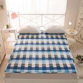 地鋪睡墊1.8m1.5米軟床墊被單人學生宿舍榻榻米薄床護墊被1.2褥子