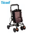 日本幸和TacaoF-時尚購物助步車-棕色