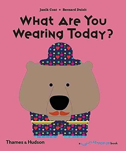 What Are You Wearing Today? A Flip Flap Pop Up Book 今天穿什麼衣服? 趣味操作書