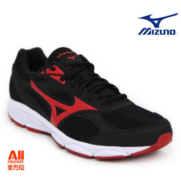 【Mizuno美津濃】男款慢跑鞋 MIZUNO SPARK 3一般型-黑紅色 (K1GA180359)全方位跑步概念館