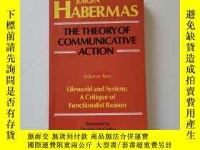 二手書博民逛書店The罕見Theory of Communicative Action:(Vol. 2) Lifeworld an