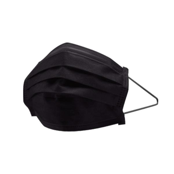萊潔 醫療防護口罩成人-曜石黑(50入/盒裝)