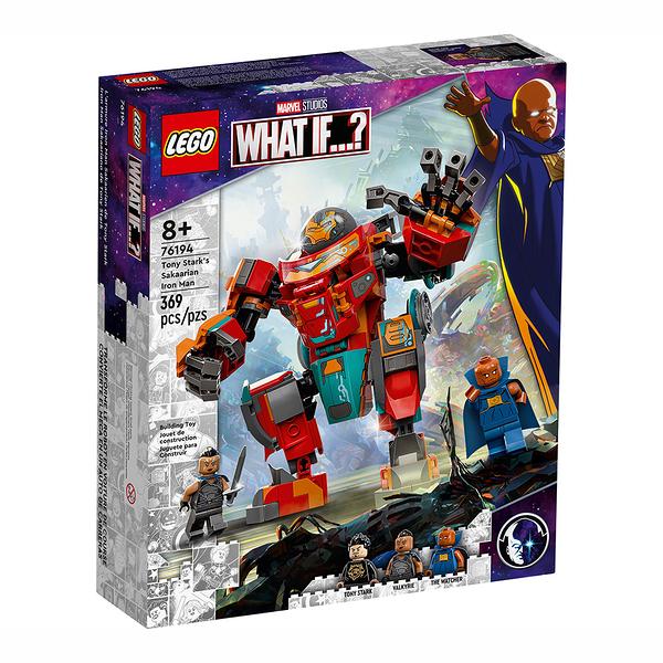 "樂高積木 LEGO《 LT76194》SUPER HEROES 超級英雄系列 - Tony Stark""s Sakaarian Iron Man"