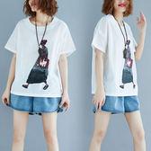 【GZ11】 新款 女裝 棉麻 襯衫 前短後長 寬鬆 夏 大碼 上衣 (實拍)