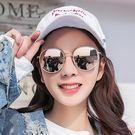 2018新款墨鏡女圓臉韓版潮偏光太陽眼鏡防紫外線明星網紅街拍