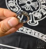 復古克羅心永恒戒指情侶對戒訂婚戒指男女【貼身日記】