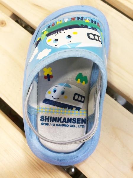 【震撼精品百貨】Shin Kan Sen 新幹線~台灣製正版兒童拖鞋-水藍色(13~18號)#13562