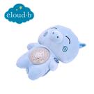 美國cloud b 聲光音樂夜燈/安撫睡眠玩具/夜燈-藍豬豬CLB7472-BGB