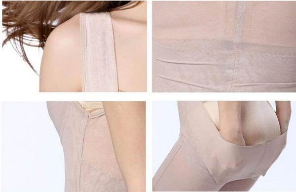 ★草魚妹★H483無痕產後收腹美體連身平口調整衣,售價480元