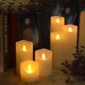 led電子蠟燭燈引路婚慶生日蠟燭創意浪漫布置仿真石蠟家用表白 LI1671『美鞋公社』