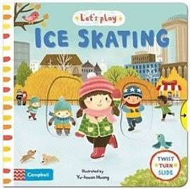 【幼兒硬頁拉拉書】LET'S PLAY:  ICE SKATING /大開本《主題:冬天》