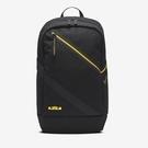 【現貨折後$1880】R-NIKE LEBRON 刺繡 小LOGO 黑色 筆電包 雙肩包 運動背包 黃紫 黑 CT3756-011