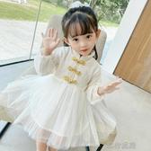 女童連衣裙女童裝連衣裙新款周歲公主裙2020季洋氣寶寶連衣裙民族風裙子
