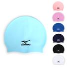 MIZUNO SWIM矽膠泳帽 (彈性泳帽 海灘 戲水 游泳 美津濃≡體院≡ N2MW4053