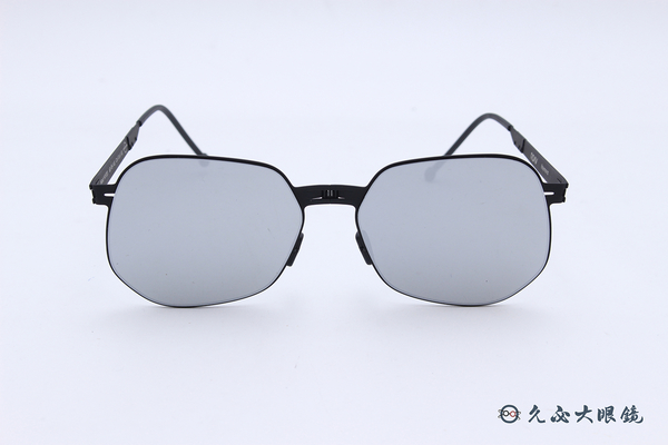ROAV 偏光太陽眼鏡 Raymond - Mod.NY001 ( 霧黑框/白水銀 ) 薄鋼折疊墨鏡