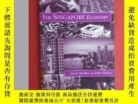 二手書博民逛書店英文書罕見THE SINGAPORE ECONOMY 共286頁
