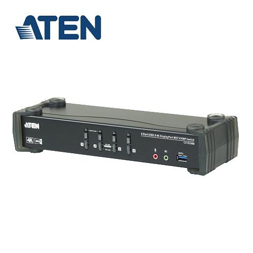 ATEN CS1924M 4埠USB3.0 4K DisplayPort MST KVMP多電腦切換器