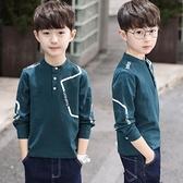 快速出貨 男童T恤童裝男童裝長袖t恤款男孩大兒童上衣打底衫純棉8