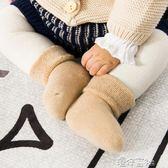 嬰兒襪子秋冬純棉 0-3-6個月新生兒襪 加厚彩棉寶寶毛巾襪 港仔會社