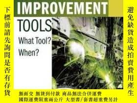 二手書博民逛書店Selecting罕見The Right Manufacturing Improvement Tools: Wha