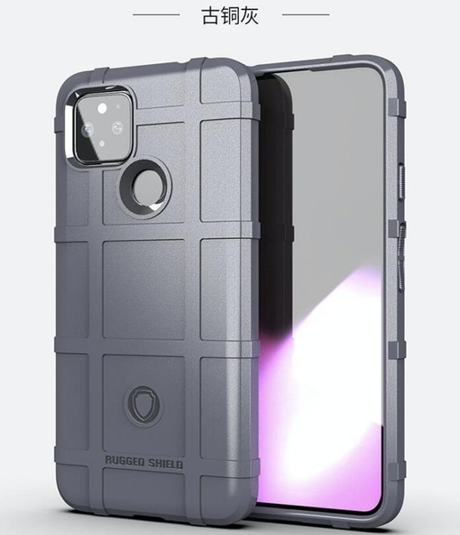 Google Pixel 5 護盾保護套 軟殼 鎧甲盾牌 氣囊防摔 三防全包款 矽膠套 手機套 手機殼 谷歌