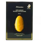 JM SOLUTION 黃金蠶絲蛋白水光面膜  (10入/盒) 保溼護膚 現貨免等