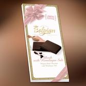 Belgian‧白儷人玫瑰鹽醇黑巧克力100g