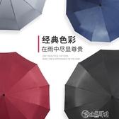 雨傘大號摺疊加固個性加大雙人晴雨兩用傘男全自動創意潮流學生女 小城驛站