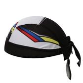 自行車頭巾 抗UV-簡約黑白拼接造型男女單車運動頭巾73fo57[時尚巴黎]