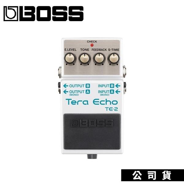 【南紡購物中心】公司貨 效果器 BOSS TE-2 Tera Echo 回聲效果器