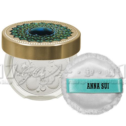 【VT薇拉寶盒】ANNA SUI 安娜蘇 藍夢金雀魔法修護粉餅蕊(9g)(攜帶版)+粉餅盒(攜帶版)