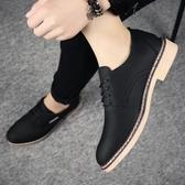 米蘭 2019夏季男士增高小皮鞋百搭韓版休閒鞋商務正裝青年英倫潮流鞋子