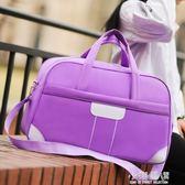 旅行包女手提包待產包韓版短途插拉桿大容量防水可折疊健身行李包『小淇嚴選』