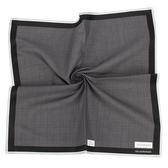 Calvin Klein 千鳥格紋純綿帕巾(灰黑色)989091-265
