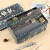 青春答卷鐵盒同學錄 復古創意韓版清新盒裝畢業紀念冊 BS21644『毛菇小象』