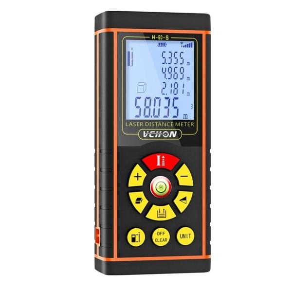 偉創激光測距儀高精度手持紅外線測量尺距離測量儀量房神器電子尺 ATF「艾瑞斯」