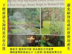 二手書博民逛書店Rustic罕見Garden Projects: Step-by