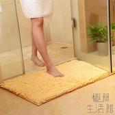 2條裝門墊吸水腳墊衛生間進門地墊家用浴室防滑墊【極簡生活】